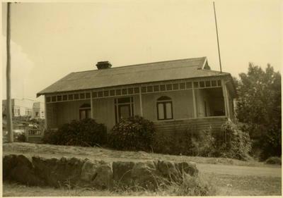 Print, Photographic, Capt Williams house, cnr Willow & McLean St, Tauranga