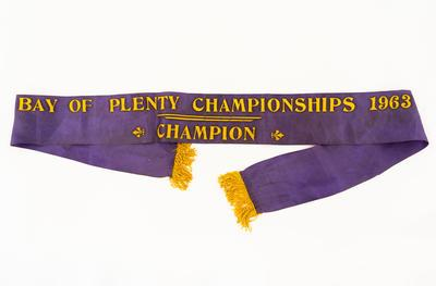 Ribbon, BOP Champion