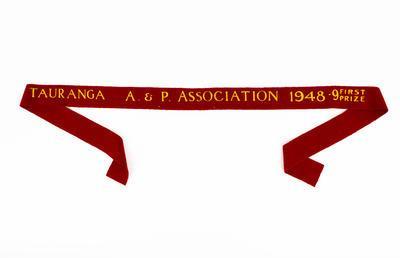 Ribbon, Tauranga A&P