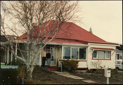Print, Photographic, Faulkner House, Eric & Connie Faulkner, Tauranga