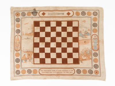 Draughts Board, WW1