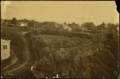 Print, Photographic, Monmouth Redoubt, Tauranga