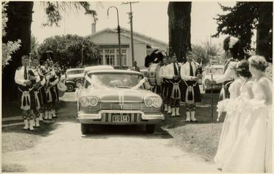 Print, Photographic, Highland Pipe Band, Wedding, Holy Trinity Churh, Tauranga