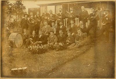 Print, Photographic, Te Puke Brass Band