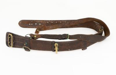 Sam Brown Belt, WW1