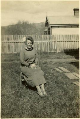 Print, Photographic, Mrs Mitchell, Mayoress, Tauranga