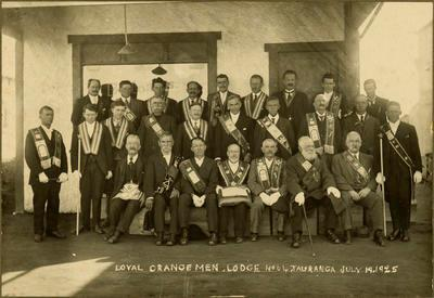 Print, Photographic, Orange Lodge, Tauranga