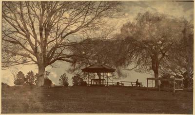 Print, Photographic, Tauranga Domain, Band Rotunda