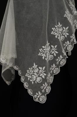 Christening veil