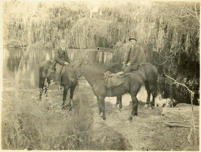 Print, Photographic, Horse Riders