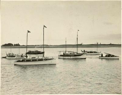 Print, Photographic, Launch Race, Tauranga Harbour