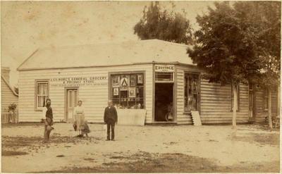 Print, Photographic, Gilmores Exchange Store, Tauranga