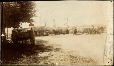 Print, Photographic, Steamer Day, Victoria Wharf, Tauranga