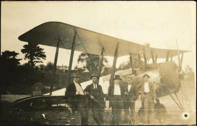 Print, Photographic, Walsh Brothers' Plane