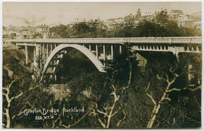 Postcard, Auckland