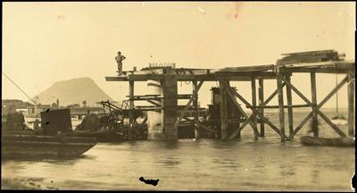 Print, Photographic, Matapihi Rail Bridge, Tauranga