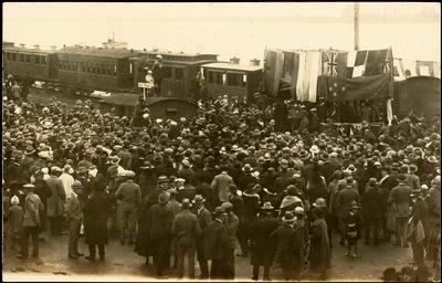 Print, Photographic, Opening Tauranga railway