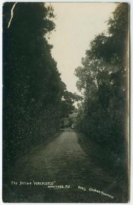 Postcard, The Drive, Hastings