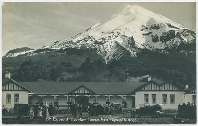 Postcard, Mt. Egmont Mountain House