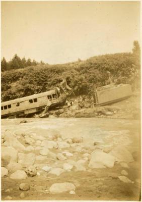 Print, Photographic, Tangiwai Railway Disaster