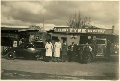 Print, Photographic, Gibson Tyre Surgery, Tauranga