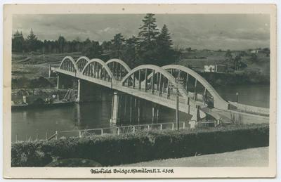 Postcard, Bridge, Hamilton