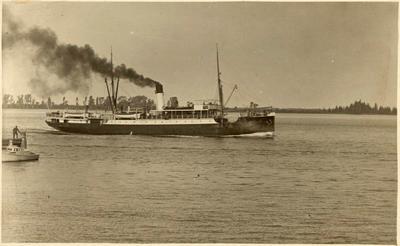 Print, Photographic, Clansman, Tauranga Harbour