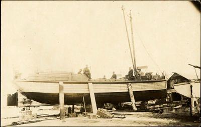 Print, Photographic, 'Monowai', Brain Boatyard, Tauranga