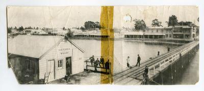 Print, Photographic, Victoria Wharf, Tauranga