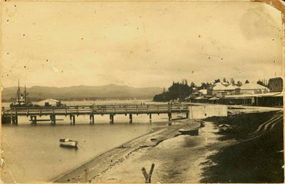 Print, Photographic, Tauranga Wharves