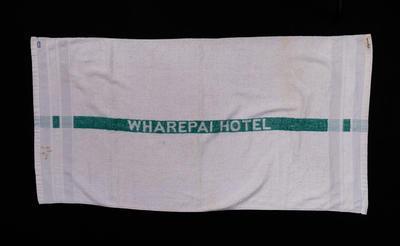 Towel, Wharepai Hotel