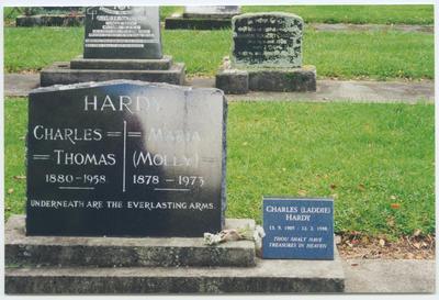 Print, Photographic, Tauranga Cemetery, Hardy