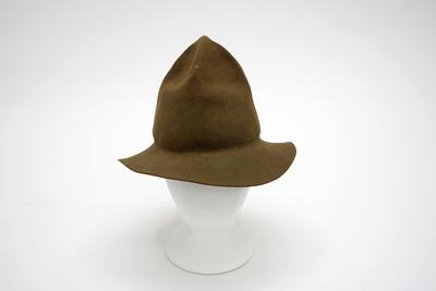 Hat, Felt, Peaked Crown, Type 1