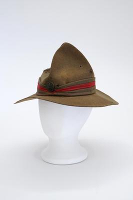 Hat, Felt, Peaked Crown