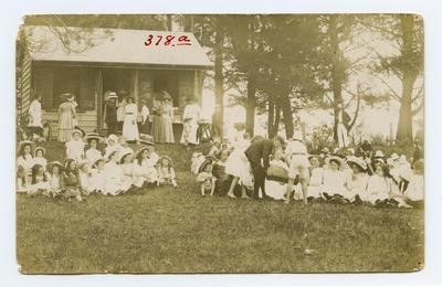 Postcard, Tauranga School, Tauranga Domain