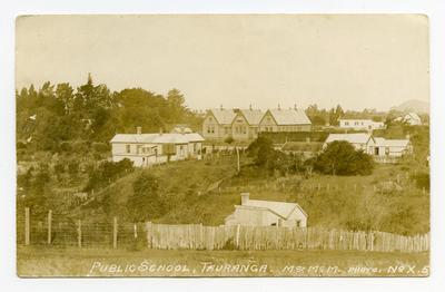 Postcard, Tauranga, Tauranga District High School