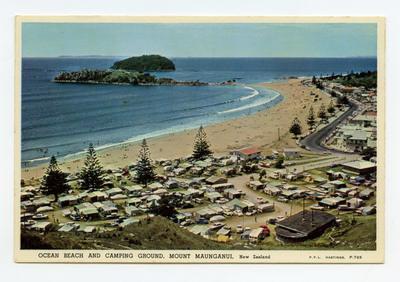 Postcard, Mount Maunganui,Tauranga