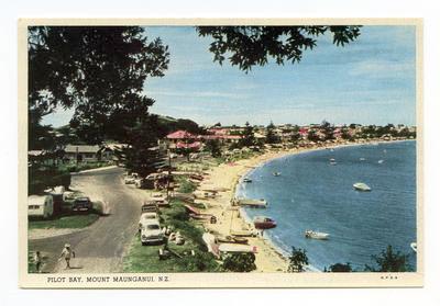 Postcard, Mount Maunganui, Tauranga