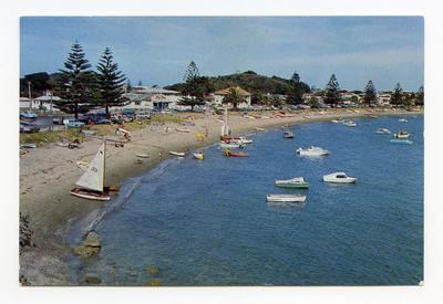 Postcard, Mount Maunganu, Tauranga