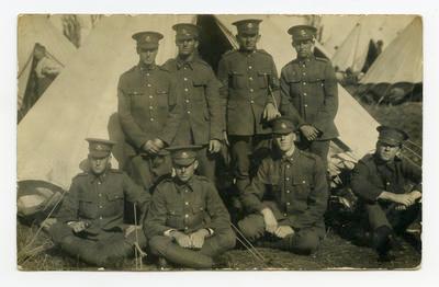 Postcard, Tauranga, WW1