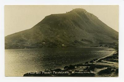 Postcard, Mount Maungnaui, Tauranga