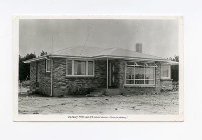 Postcard, Beasley Home, Tauranga