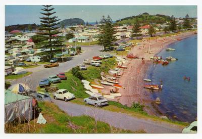 Postcard, Pilot Bay, Mount Maunganui, Tauranga