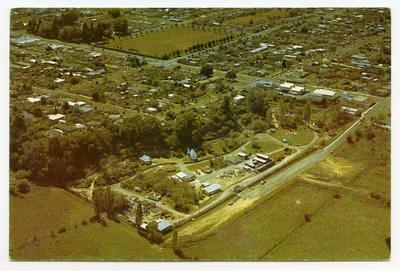 Postcard, Tauranga Historic Village and District Museum