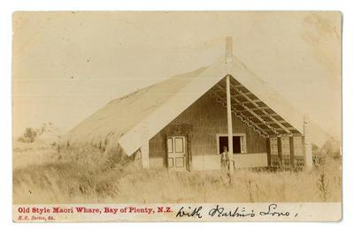 Postcard, Wharenui, Bay of Plenty
