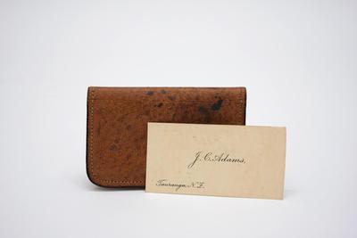 Wallet, Calling Card