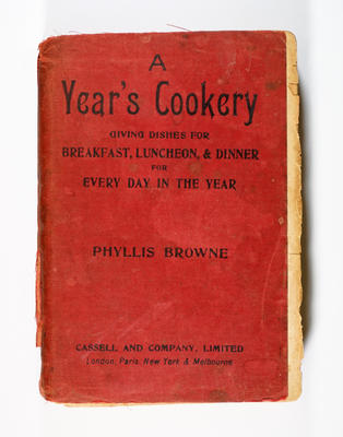 Cookbook, A Year's Cookery