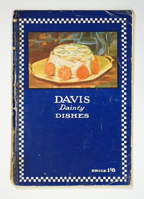 Cookbook, Davis Dainty Dishes