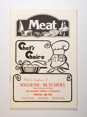 Cookbook, Chef's Choice