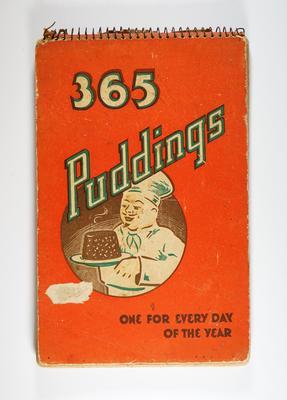 Cookbook, 365 Puddings
